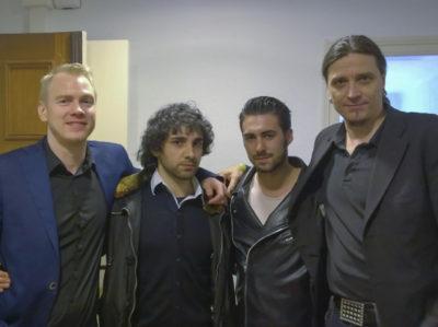 Henry, Erik Von Markovik (Mystery), Alvaro Reyes, Beckster a Barcellona