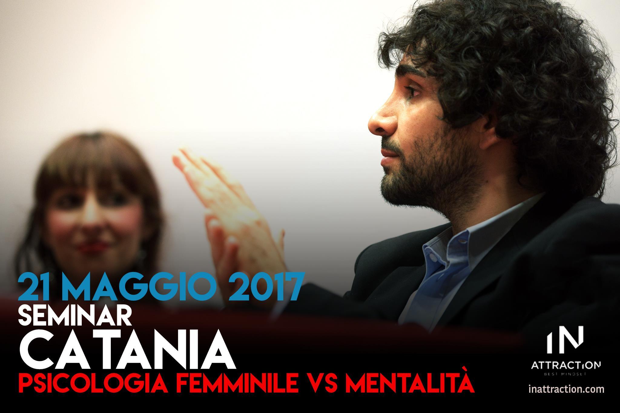 seminario di seduzione catania psicologia femminile
