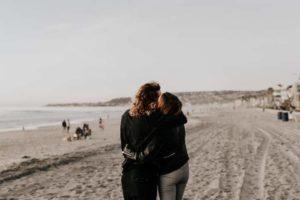 Primo appuntamento bacio